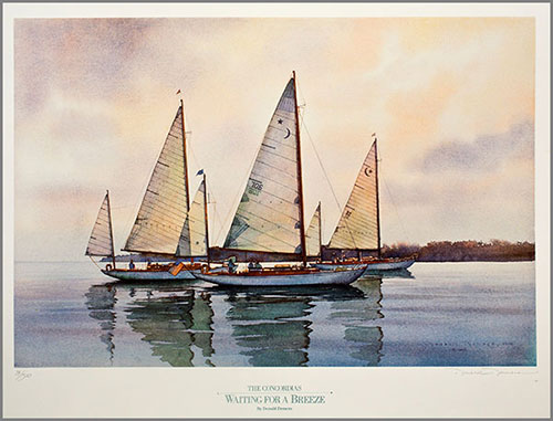 waiting for a breeze print by don demers for sale